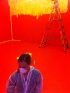 watching paint dry ... Baldessari's 'Thirteen colorful inside jobs'