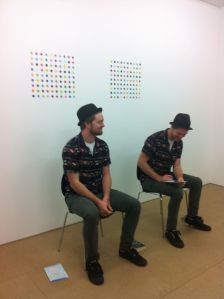 Damien Hirst, 'Hans, Georg',1992, performers Curtis and Jeffrey Argent